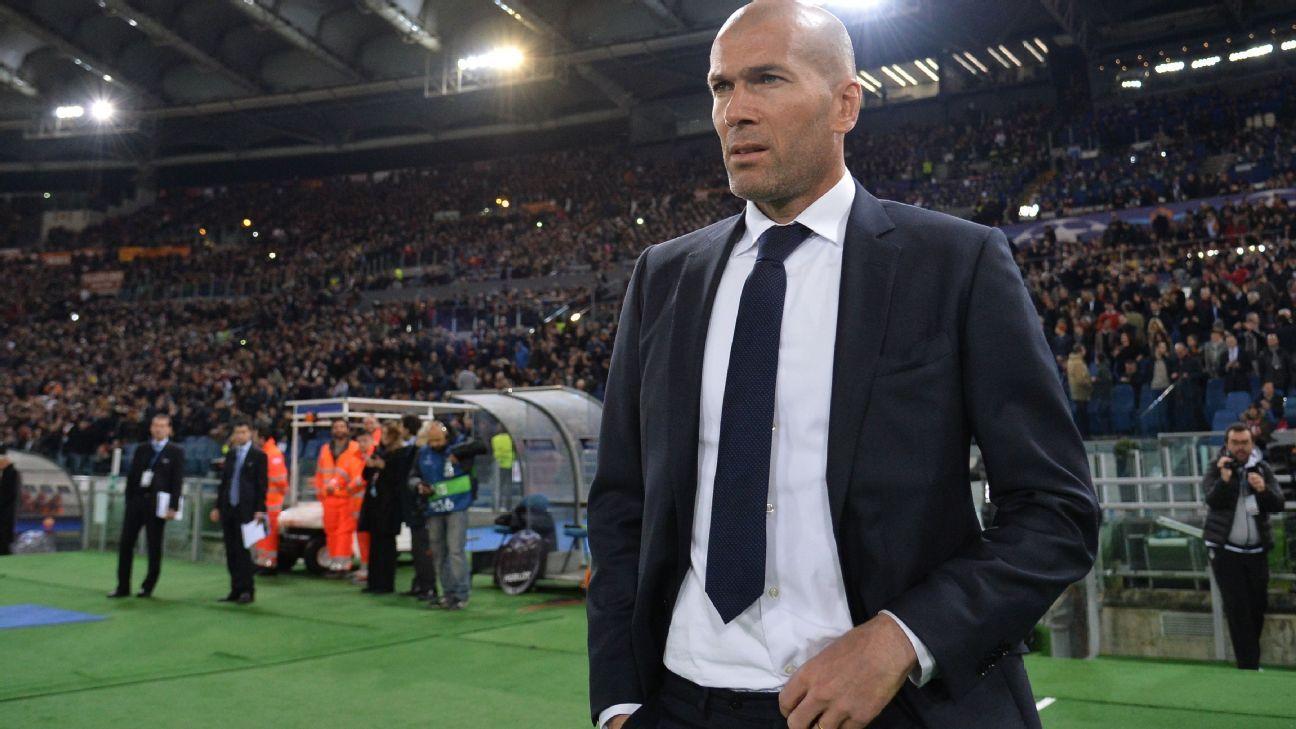 Zidane v Roma