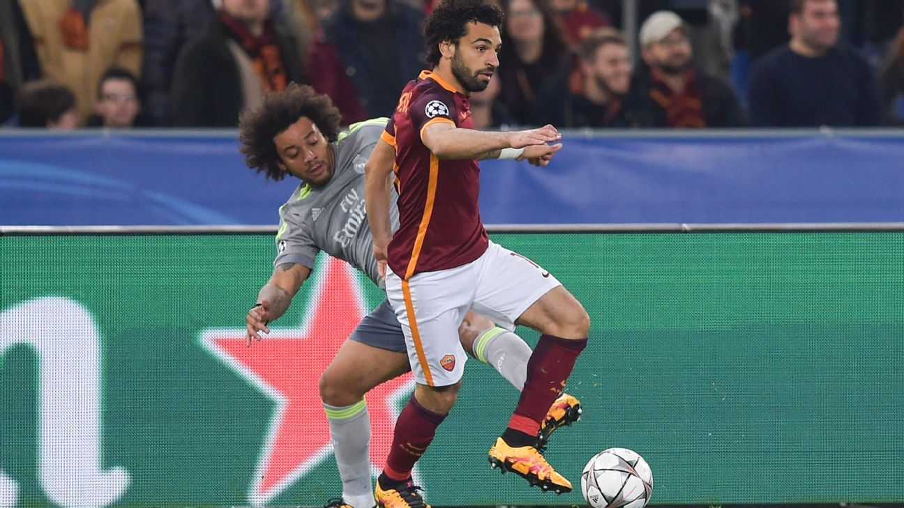Roma funneled much of their attack through speedy winger Mohamed Salah, who sought to test the recently recuperated Marcelo.