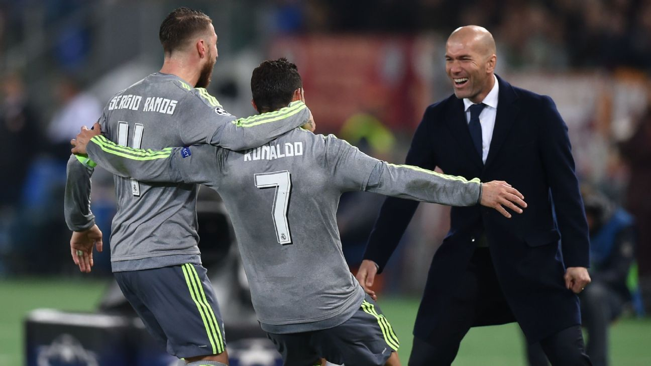 Cristiano Ronaldo's second half strike for Real Madrid vs. Roma gives the Portuguese 12 goals in this season's Champions League.