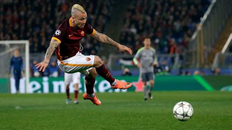 Radja Nainggolan held his ground against Real Madrid's star-studded midfield and attack.