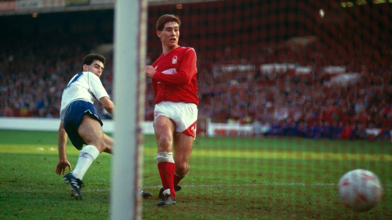Tottenham legend Gary Stevens