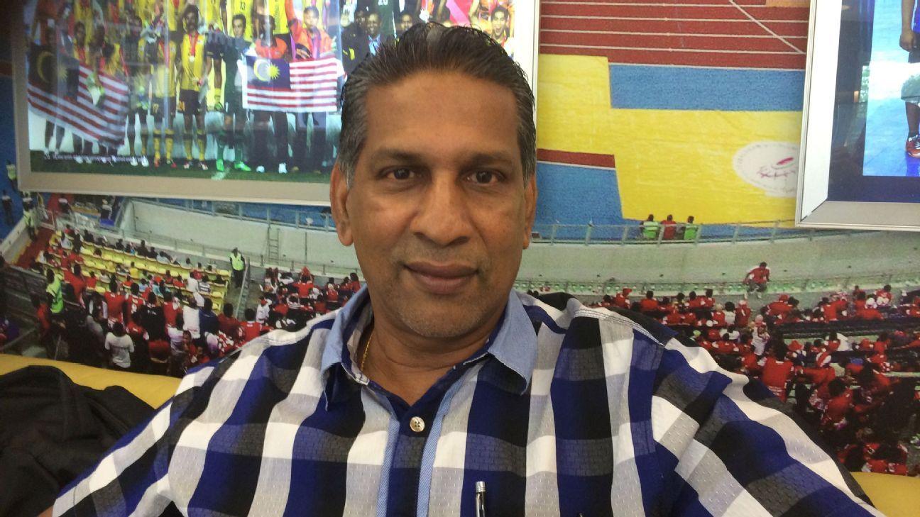 Malaysian coach B. Sathianathan
