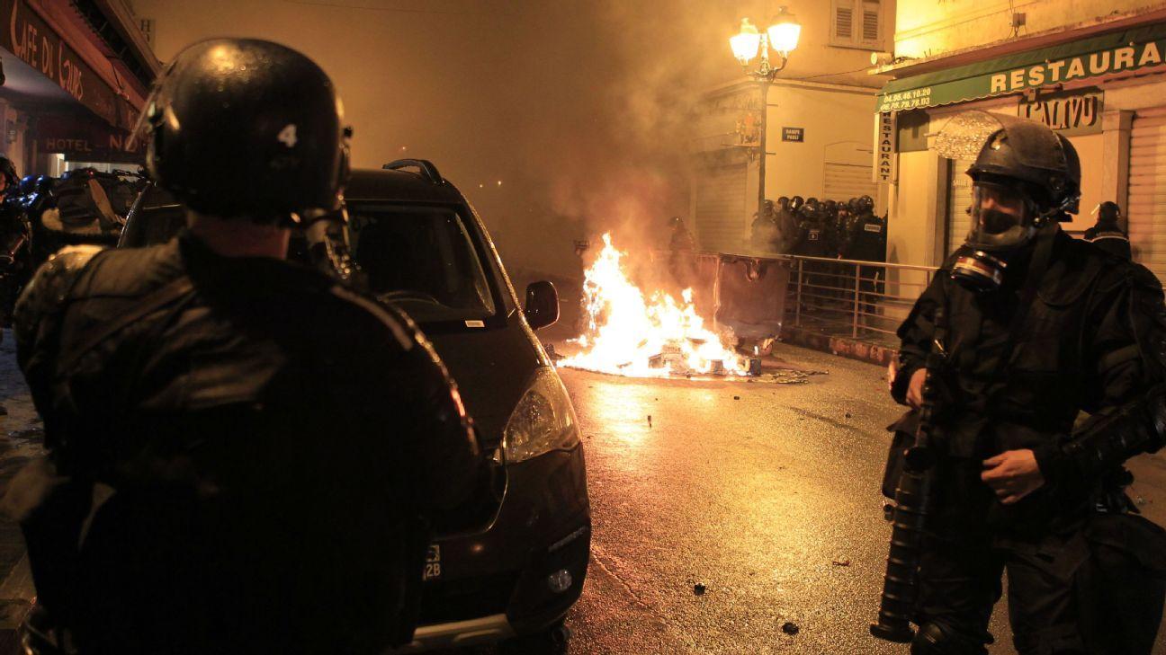 Corsican demonstrations