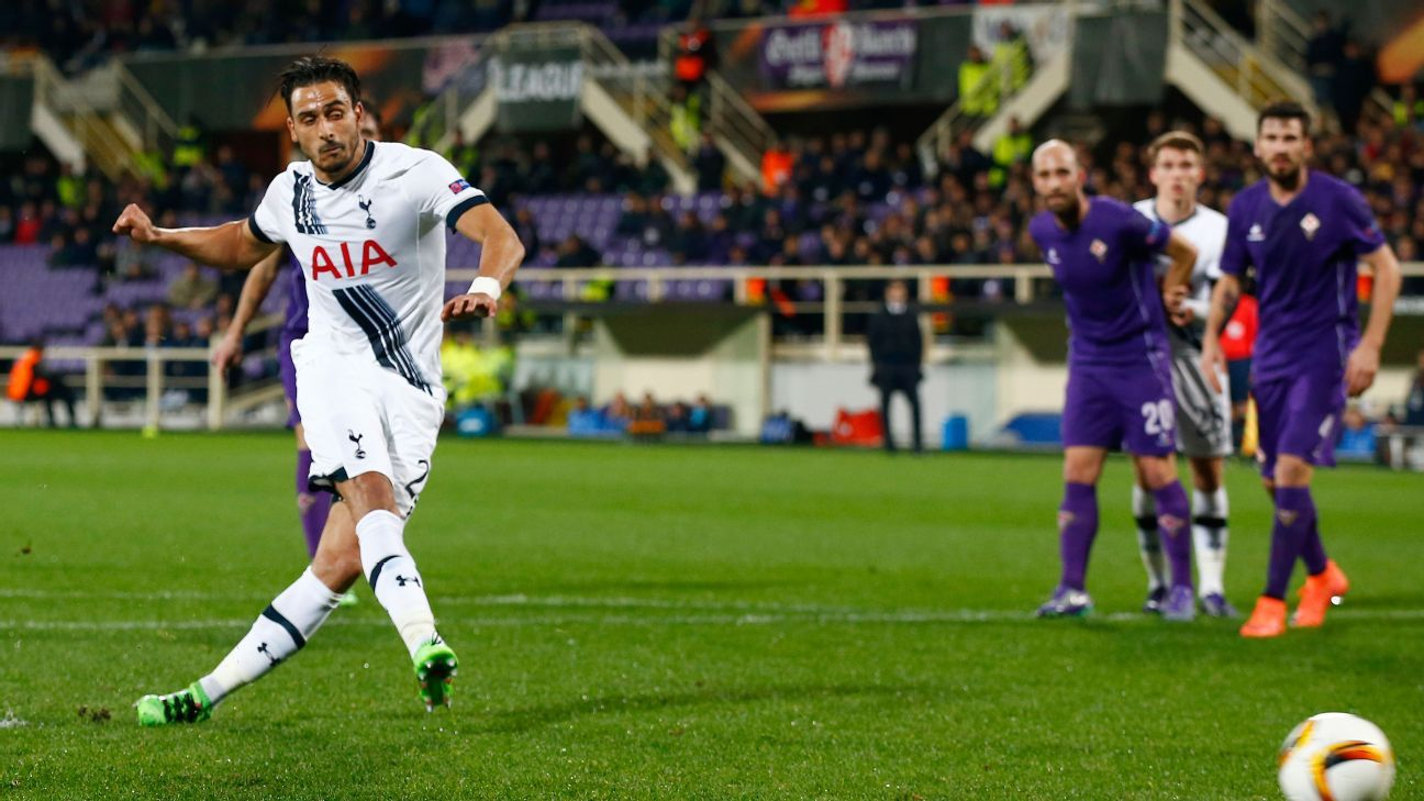 In addition to his penalty conversion, Nacer Chadli gave an end-to-end performance for Spurs.