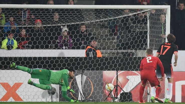 If not for the saves made by back-up goalkeeper Sergio Romero, the 2-1 scoreline could have been far worse for Manchester United.