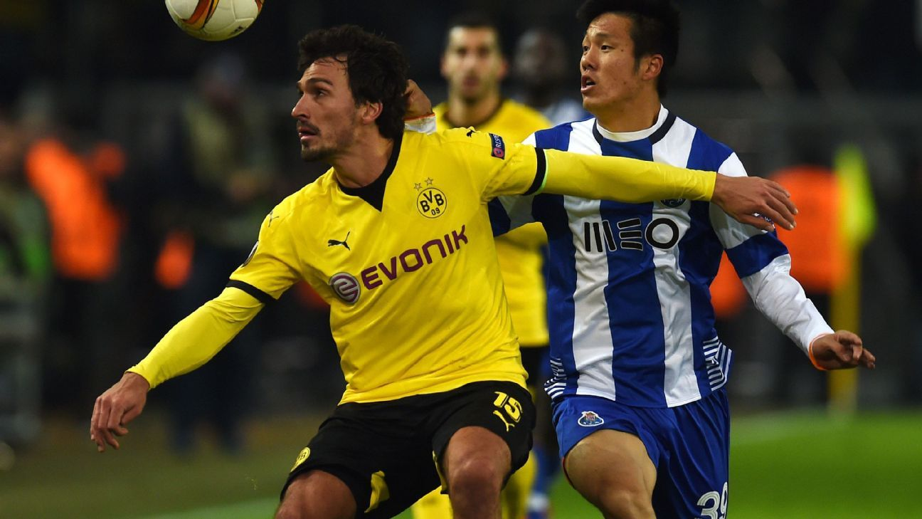 Mats Hummels controlled matters from the back for Borussia Dortmund in the 2-0 win over Porto.