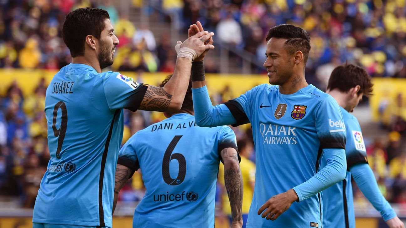 Luis Suarez and Neymar were far from their best vs. Las Palmas, but still did enough for the three points.