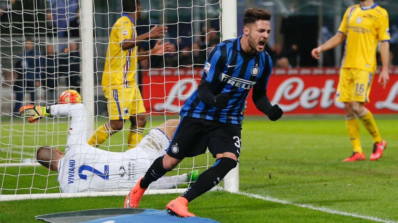 Inter Celeb vs Sampdoria 160220