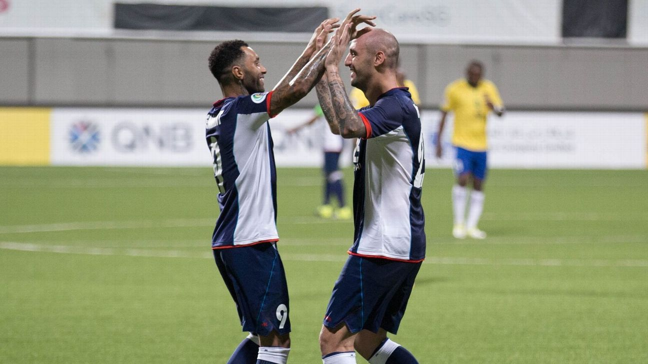 Tampines duo Jermaine Pennant and Billy Mehmet