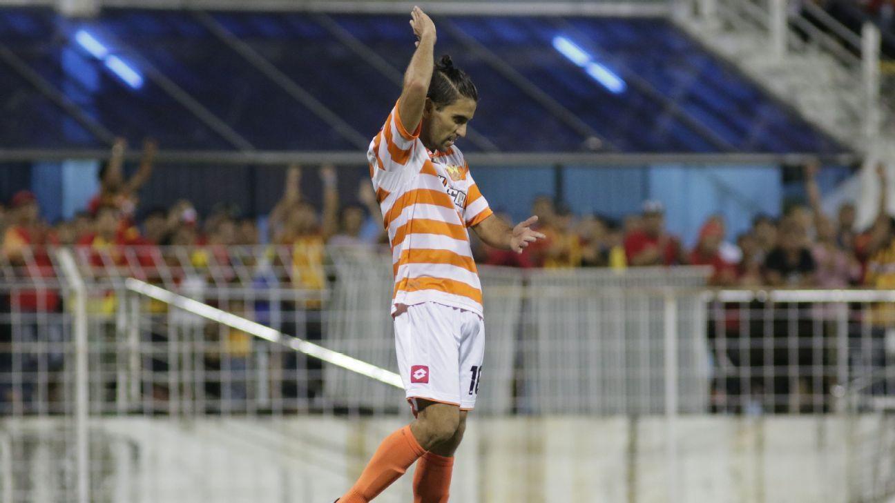 Selangor striker Andres Olivi