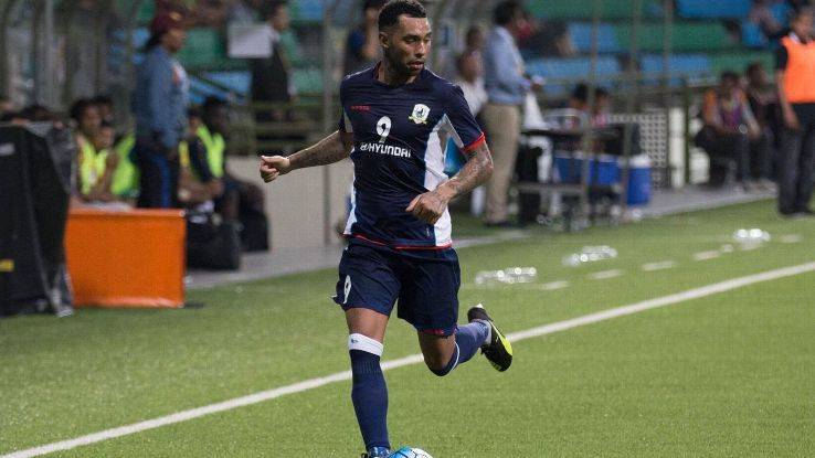 Tampines winger Jermaine Pennant