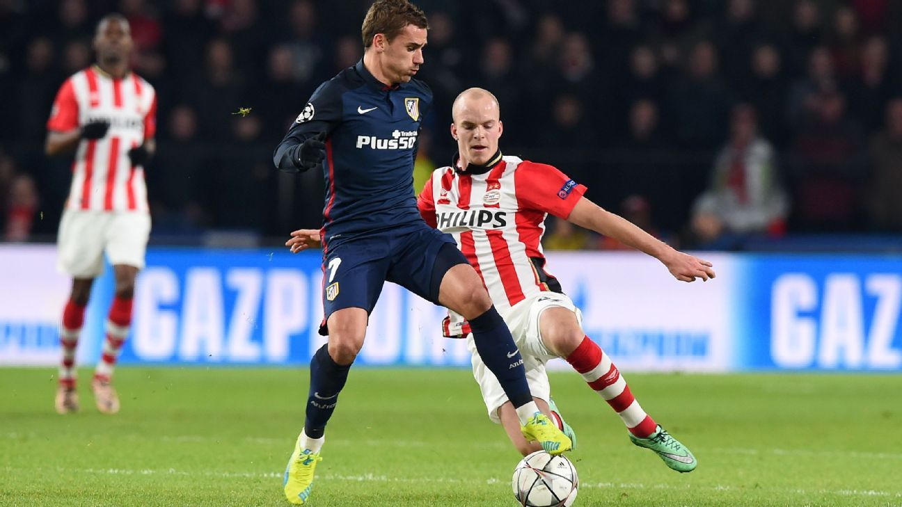 With Antoine Griezmann's goals drying up, Atletico are finding it difficult to score.