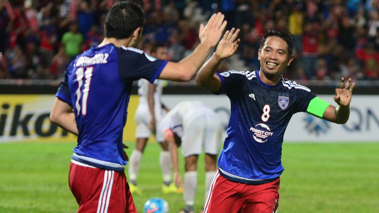 JDT Jorge Diaz and Safiq Rahim