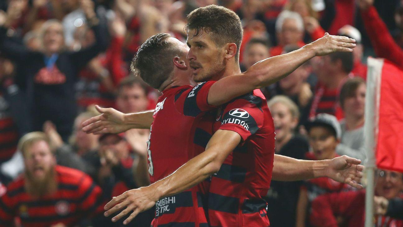 Western Sydney Wanders striker Dario Vidosic