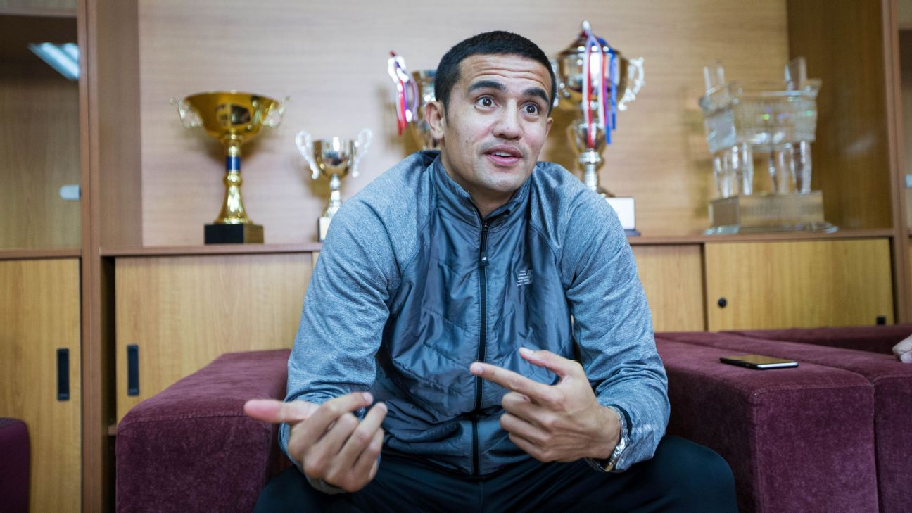 Tim Cahill Hangzhou news conference