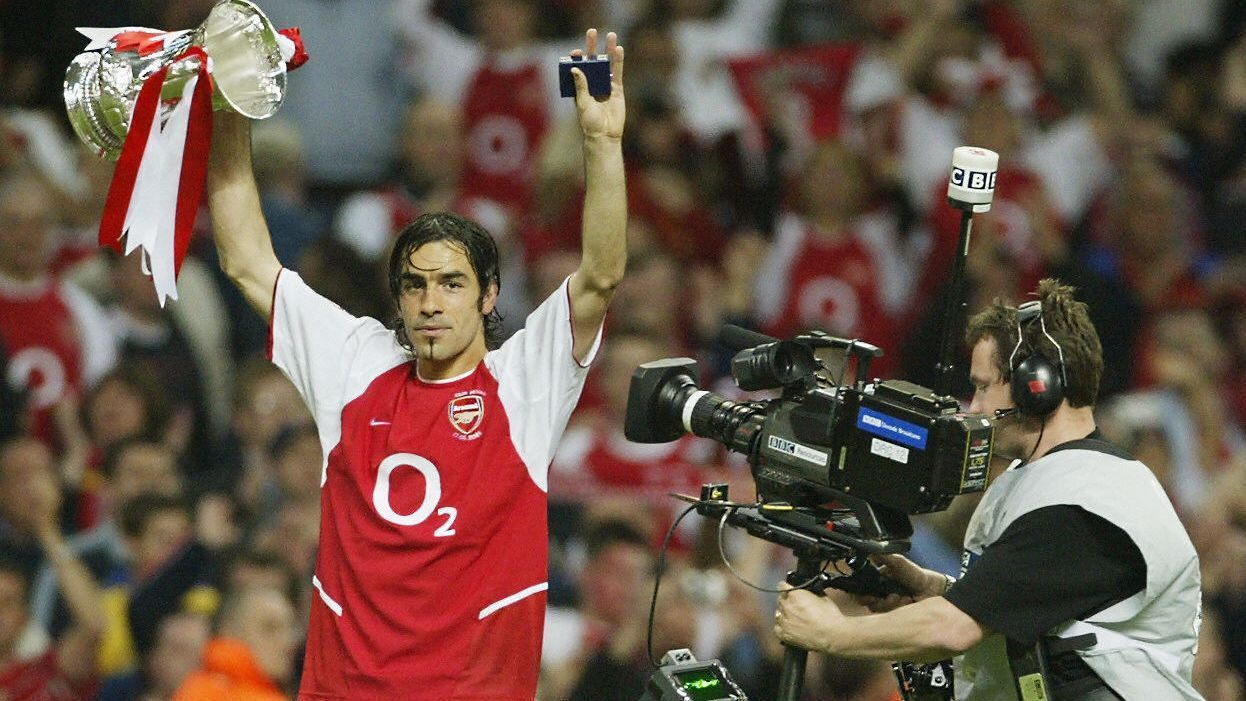 Robert Pires scored the lone goal in Arsenal's 2003 FA Cup final triumph over Southampton.