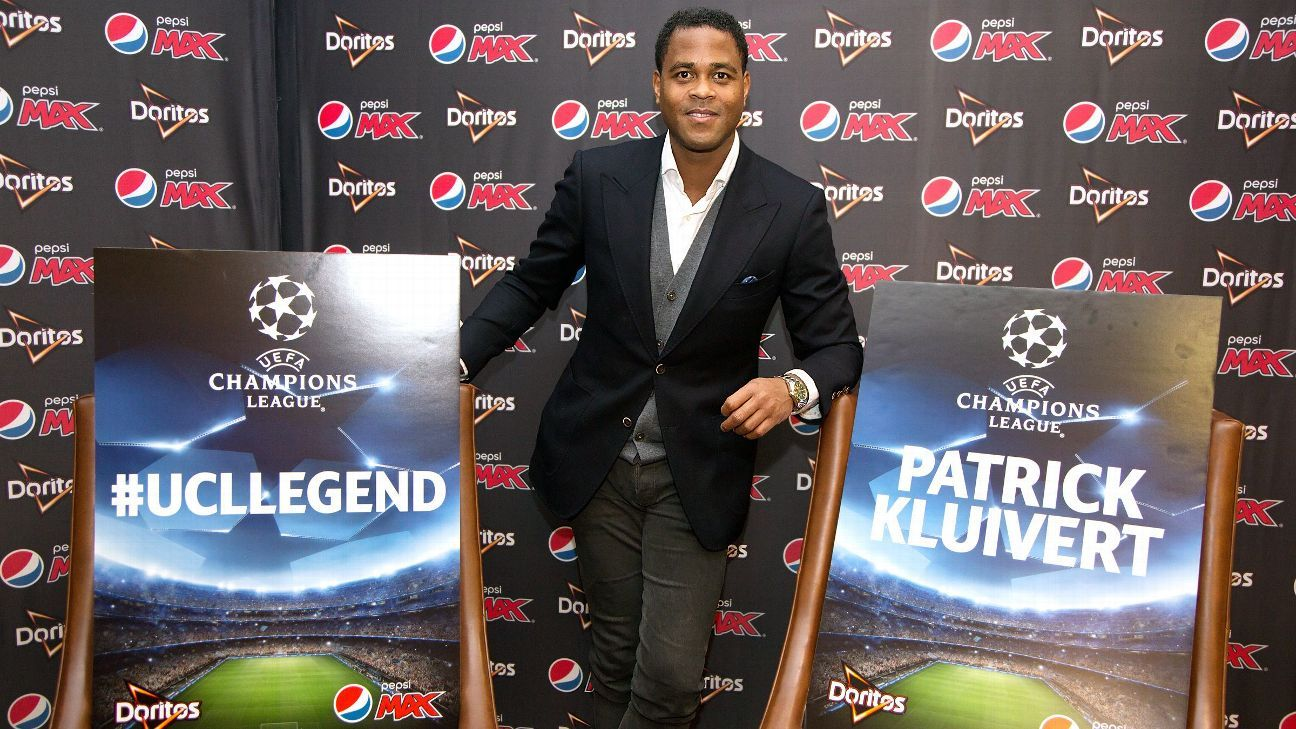 Kluivert speaks highly of Van Gaal's football philosophy.