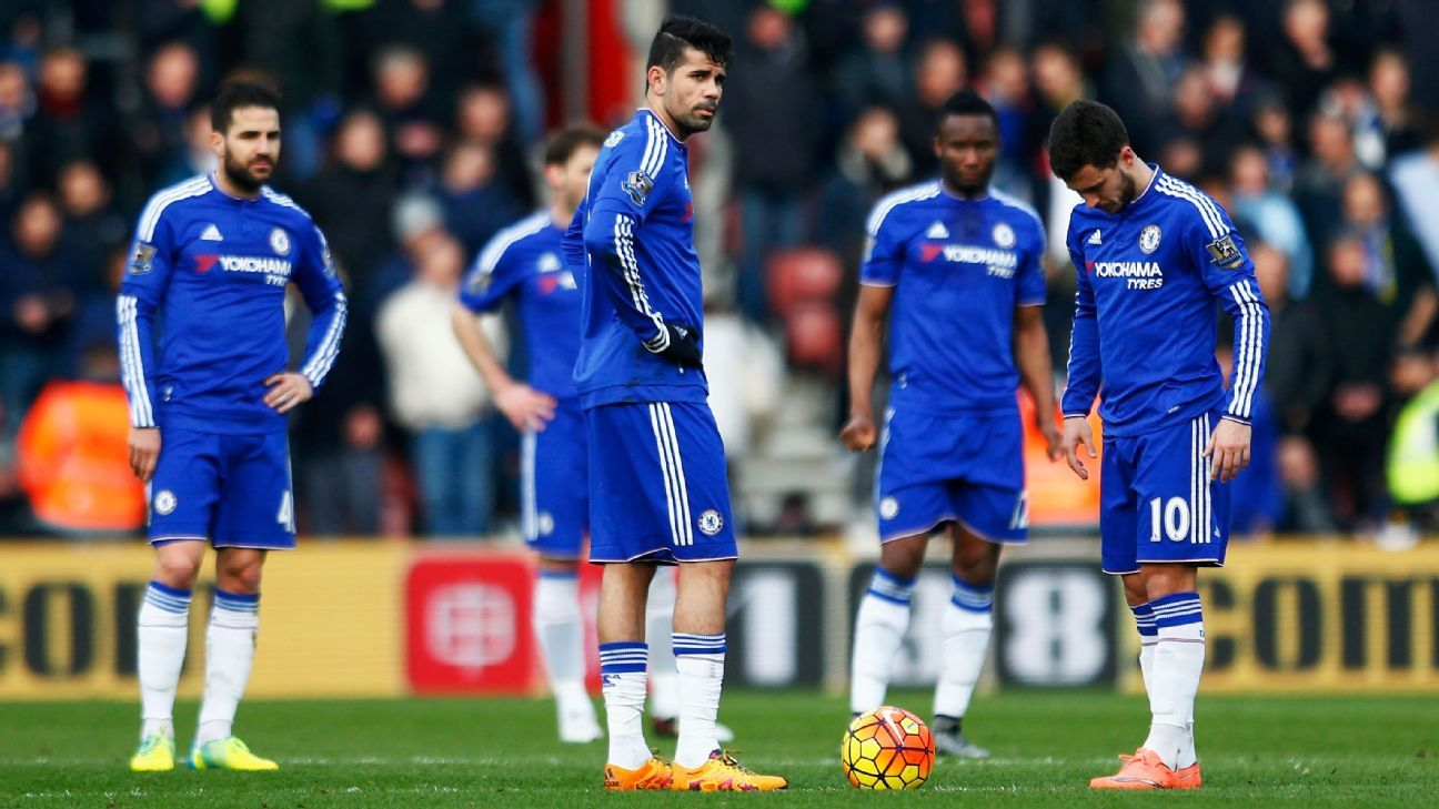 It's been a disappointing season for Chelsea, which sit in ninth place in the Premier League with a 12-12-12 record.