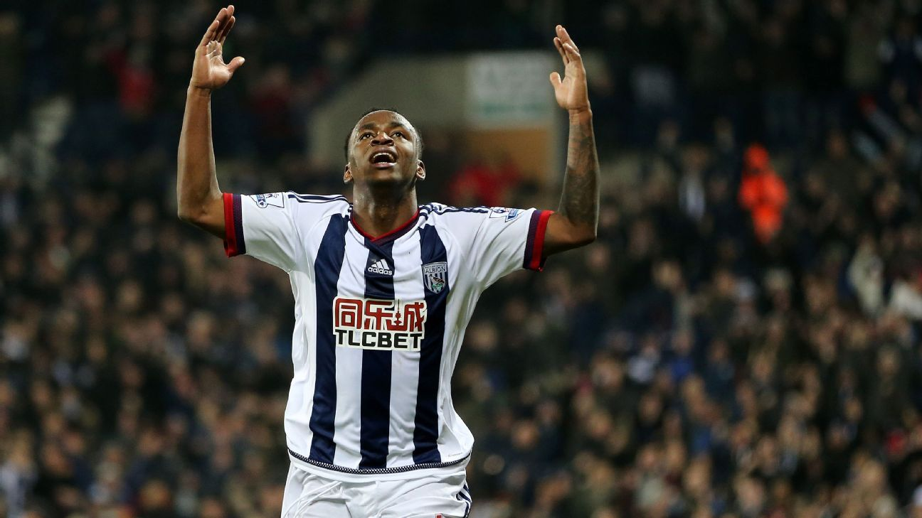 Saido Berahino completes move to Stoke City from West Brom