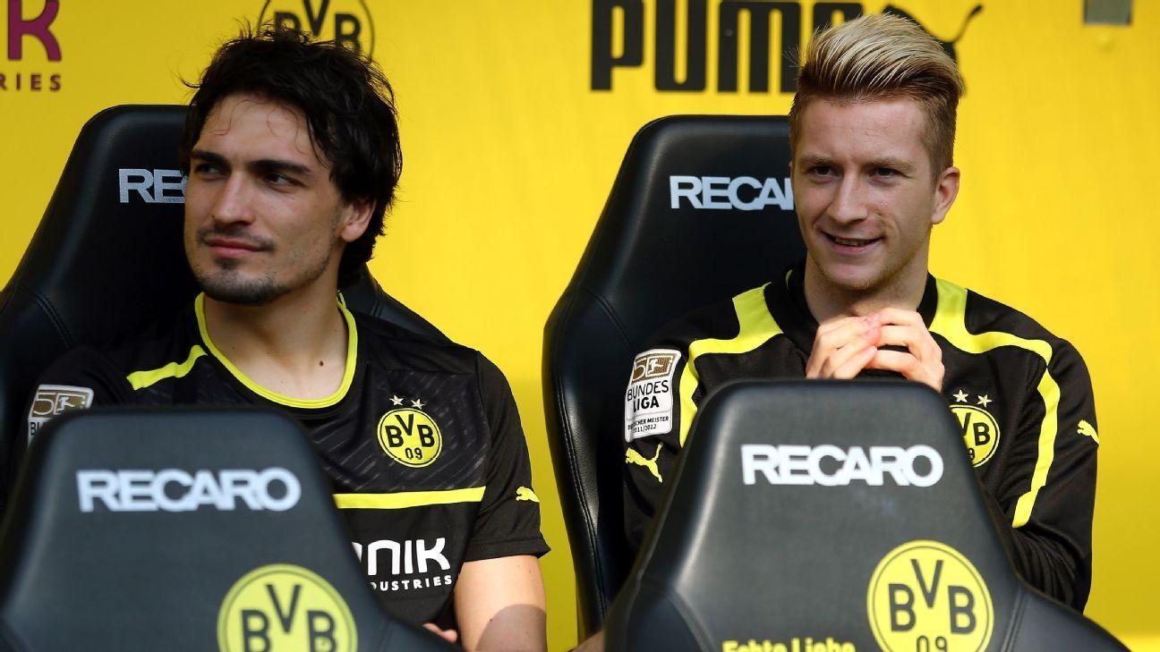 Mats Hummels and Marco Reus