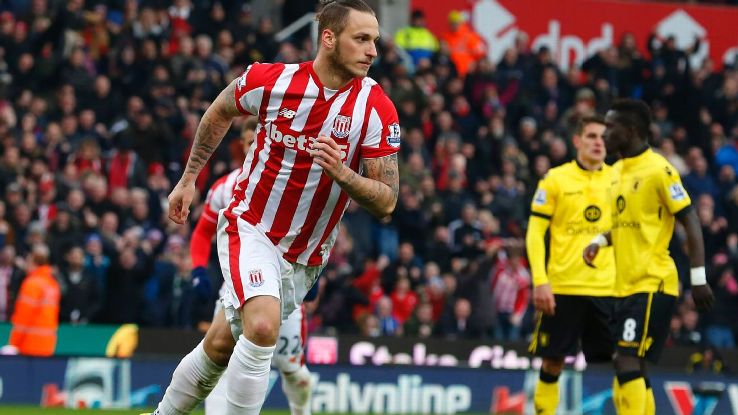 Marko Arnautovic and Stoke seek to continue winning ways when they face Newcastle on Wednesday.