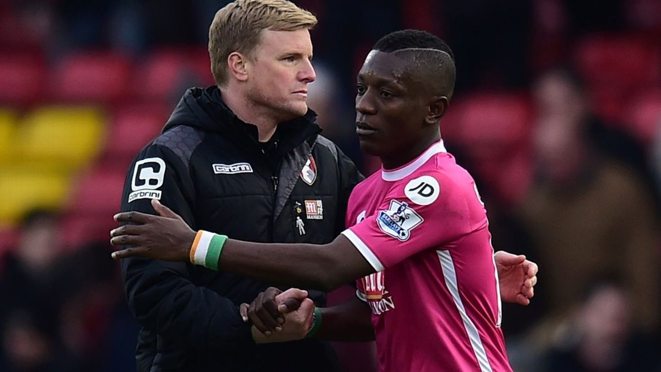 With a crunch series of fixtures ahead, Max Gradel's return will be a big help for Bournemouth manager with Eddie Howe.