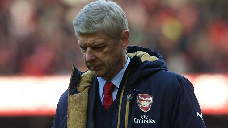 A dejected Arsene Wenger will be left stewing over his team's apathetic display at Manchester United.