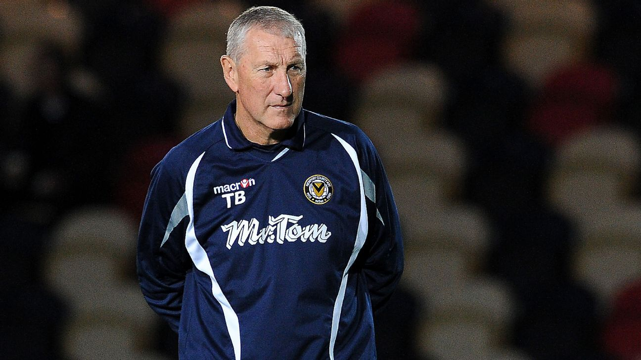 Former Newport coach Terry Butcher