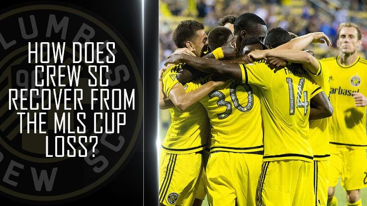 How does Crew SC recover from a heartbreaking loss in MLS Cup?