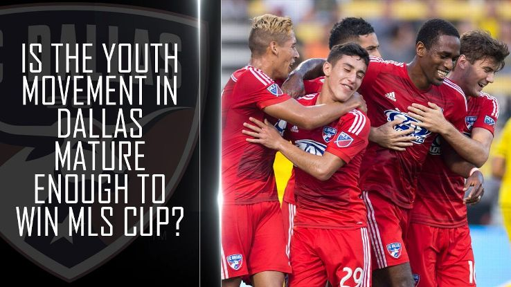 Is the youth movement in Dallas mature enough to win MLS Cup?