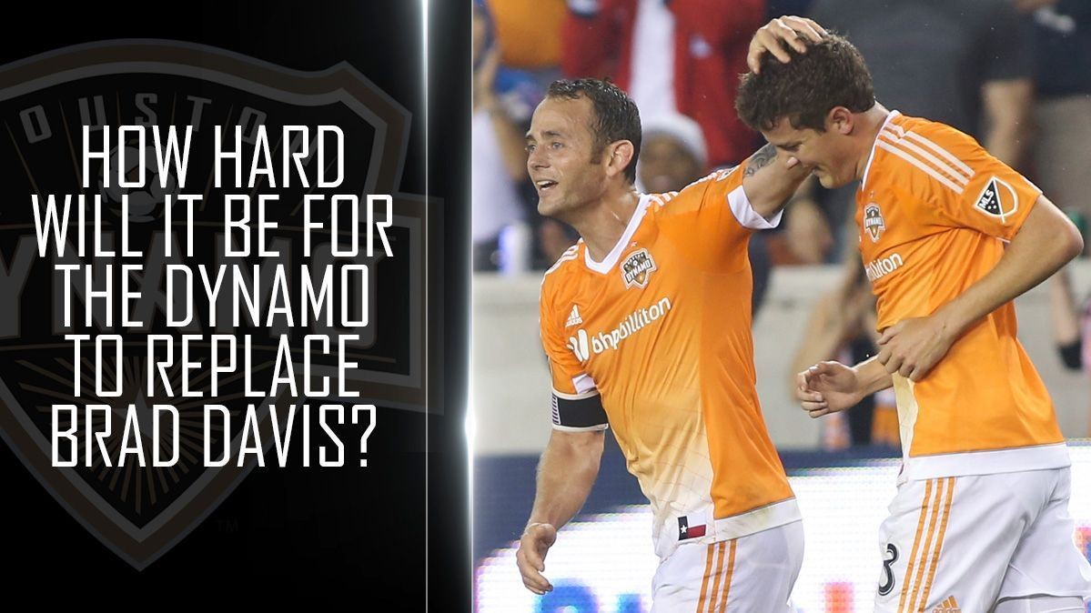 How hard will it be for the Dynamo to replace Brad Davis?