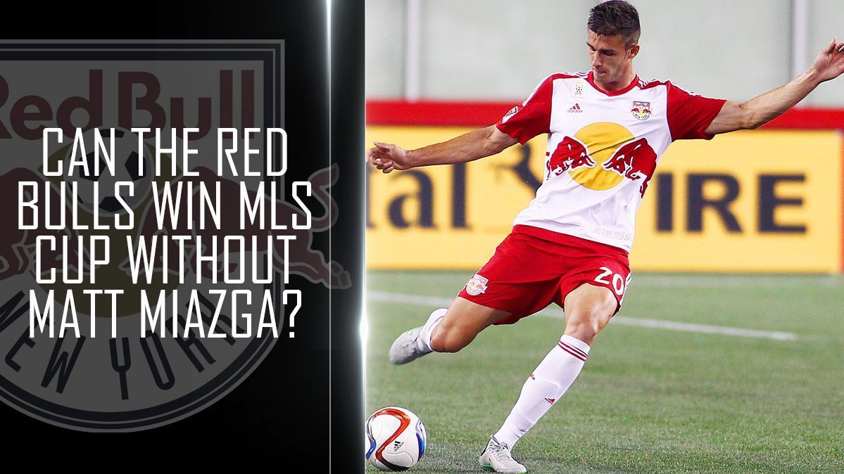Can the Red Bulls win their maiden MLS Cup without Matt Miazga?