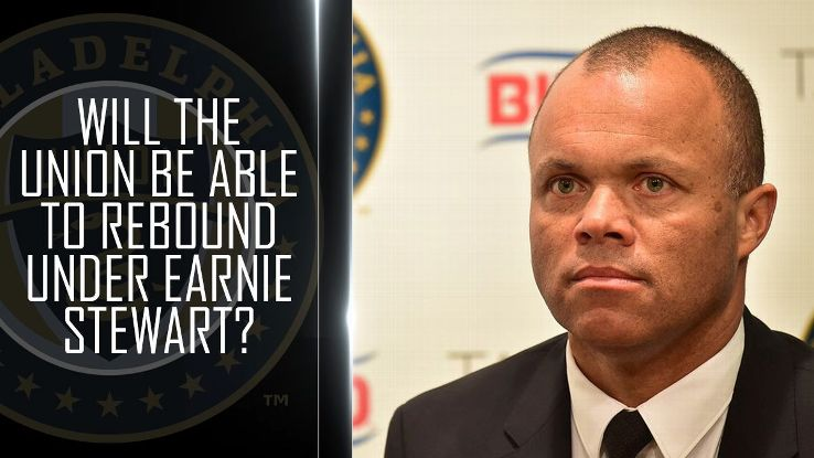Will the Union be able to rebound under the leadership of Earnie Stewart?