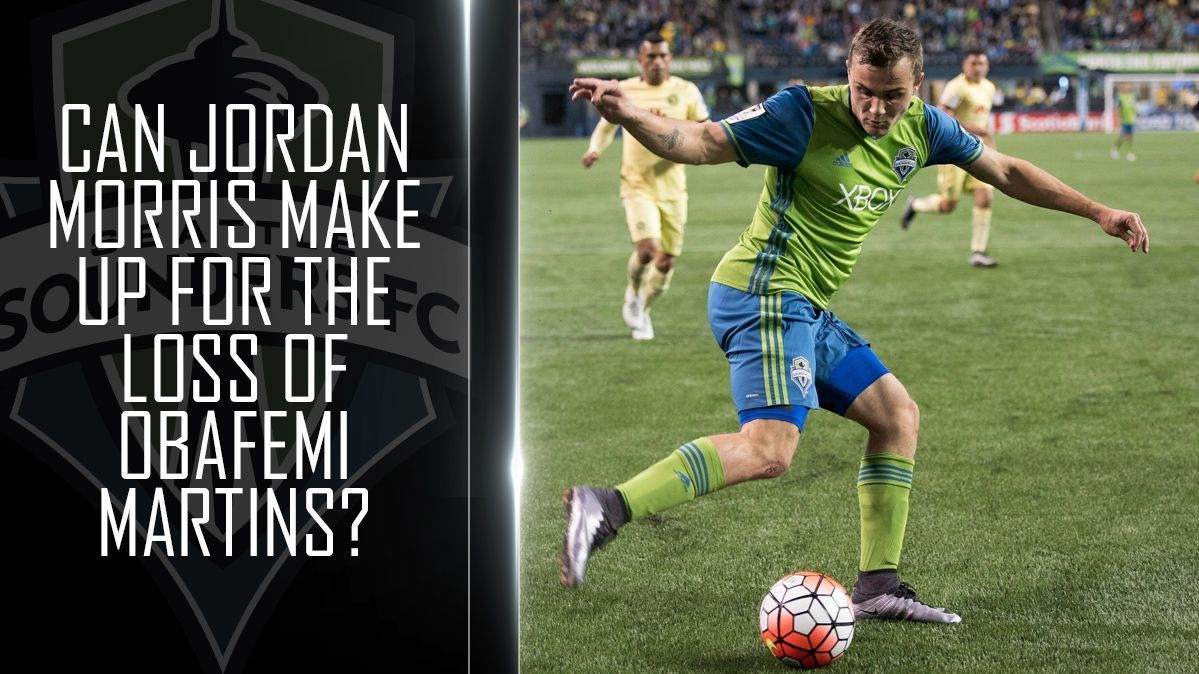 Can Jordan Morris make enough of an impact to stomach the loss of Obafemi Martins?
