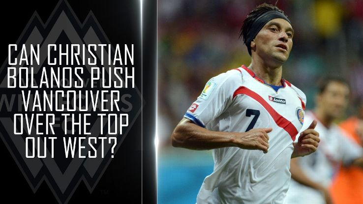 Can Christian Bolanos push the Whitecaps over the top out West?