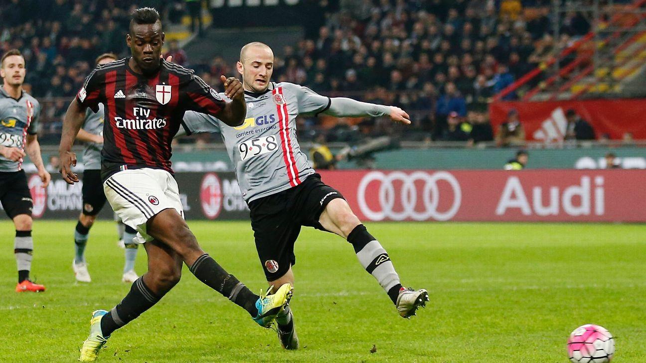 Balotelli goal Coppa Italia 160301