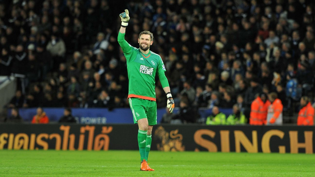 A strong of magnificent saves from West Brom No. 1 Ben Foster denied league leaders Leicester all three points.