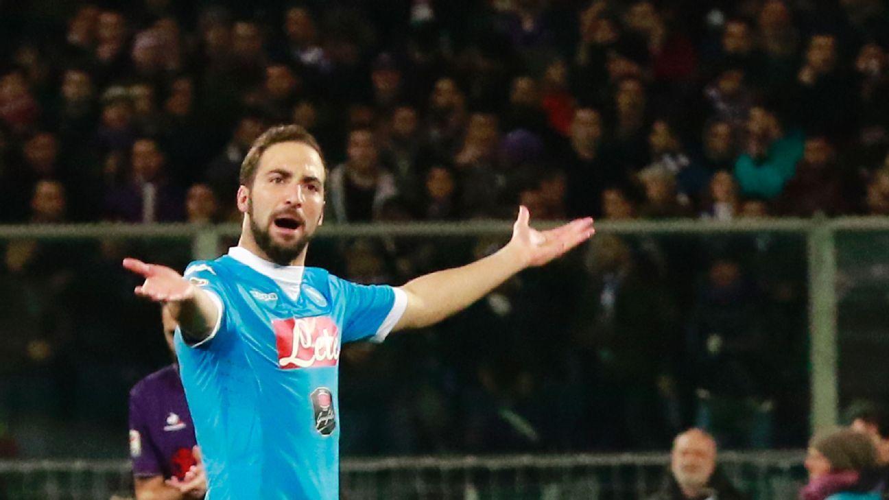Transfer Talk Gonzalo Higuain to Juventus over Arsenal Napoli