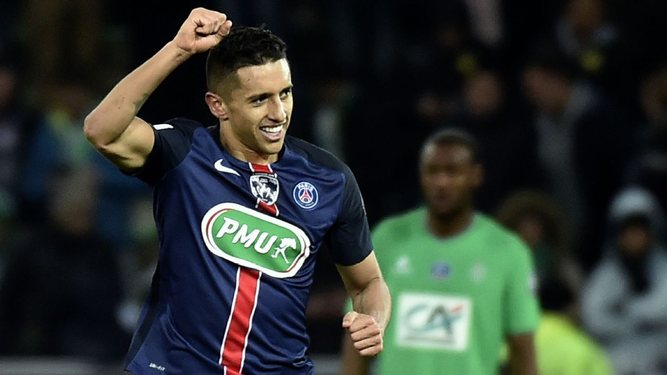 Marquinhos and the PSG defence came up big on Wednesday at Saint-Etienne.