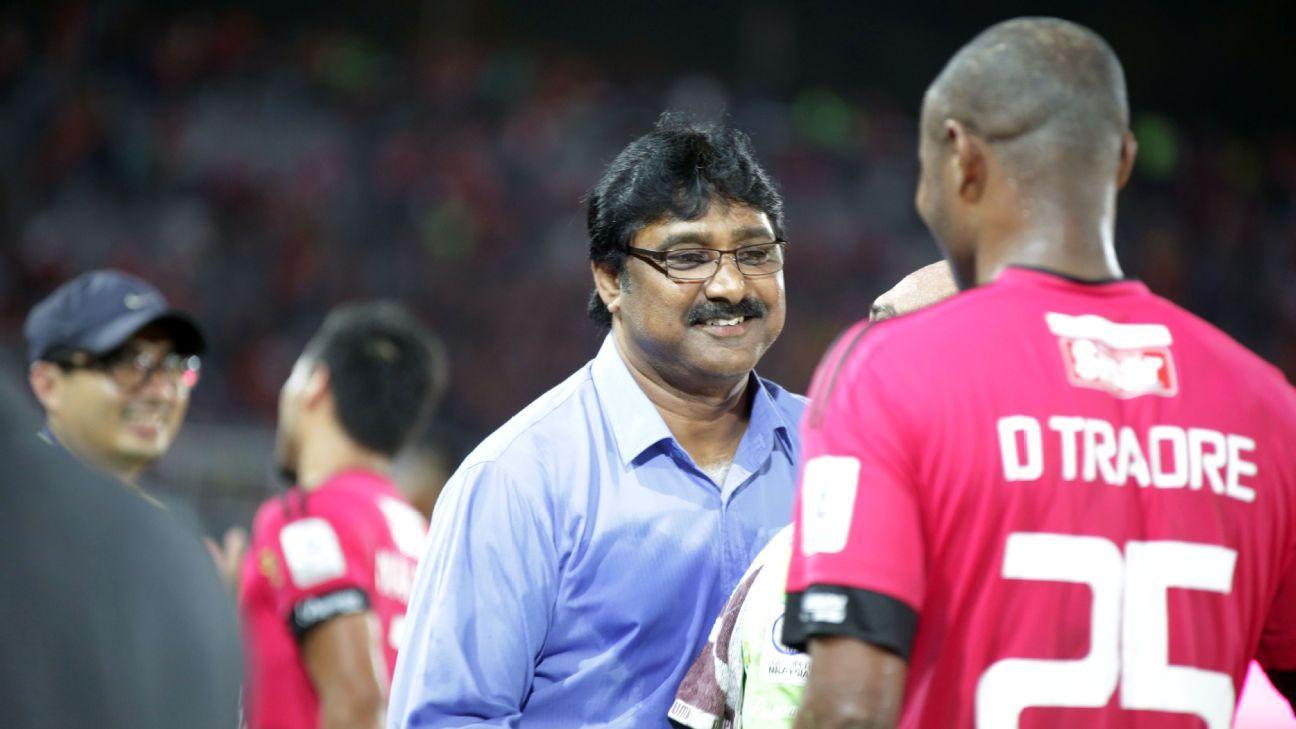 Kelantan coach K. Devan