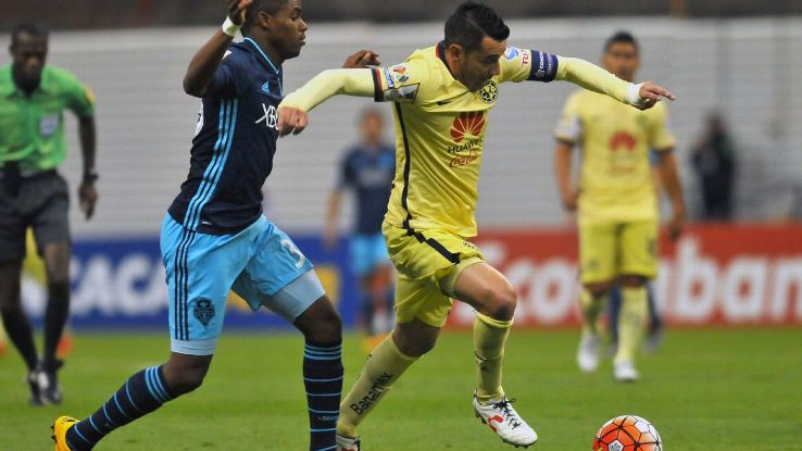 Joevin Jones and the Seattle Sounders were unable to keep pace with Rubens Sambueza and Club America on Wednesday night.