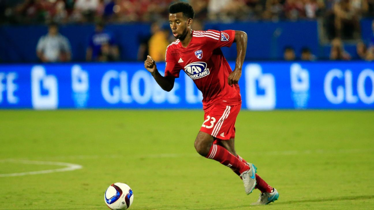 FC Dallas central midfielder Kellyn Acosta appears to have a bright future with the U.S. men's national team.