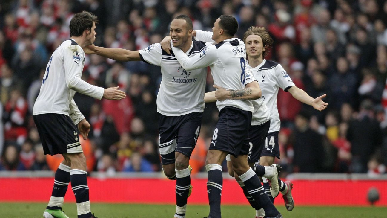 Younes Kaboul's late game-winning header in 2010 snapped Tottenham's 17-year road losing streak against the Gunners.