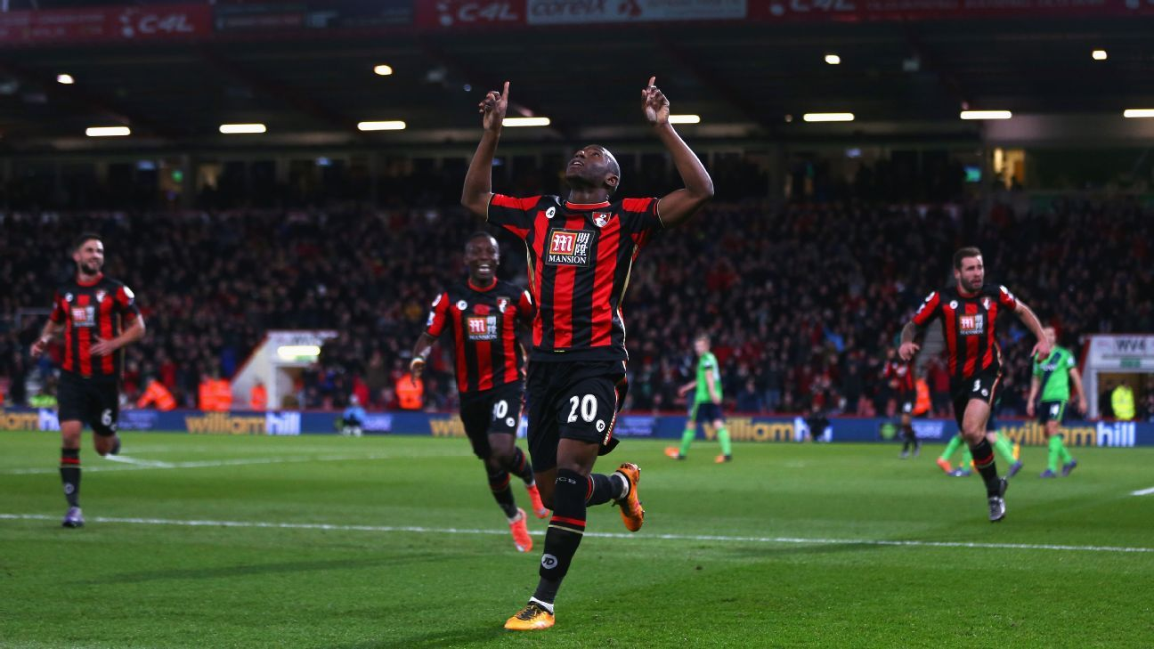 Benik Afobe's return to the scoresheet is a good omen for Bournemouth.