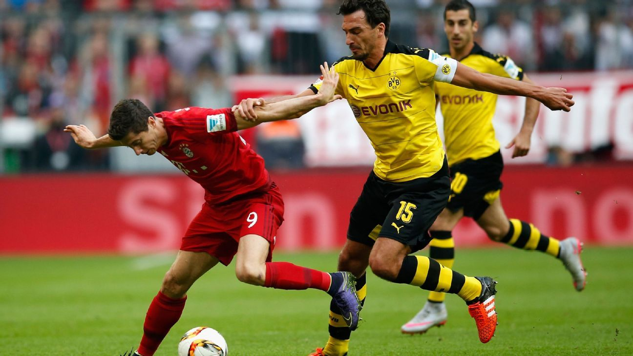 Bayern v BVB