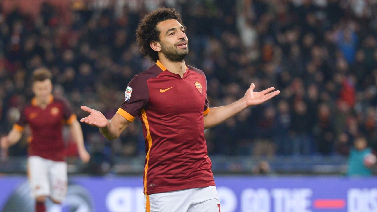 Image result for Mohamed Salah roma