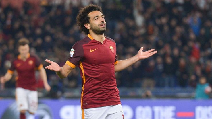 Mohamed Salah starred for Roma on loan last season.