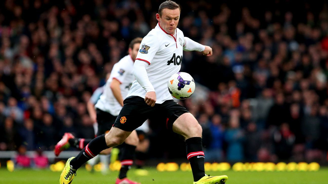 Wayne Rooney capped a memorable March in 2014 with a spectacular brace at West Ham.