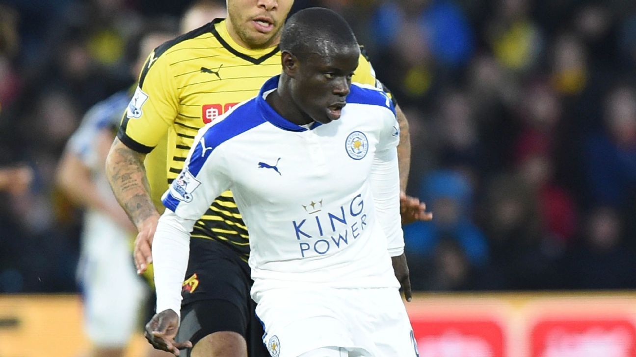 N'Golo Kante wasn't at his best, but he still provided some much-needed energy in the Leicester City midfield against Watford.
