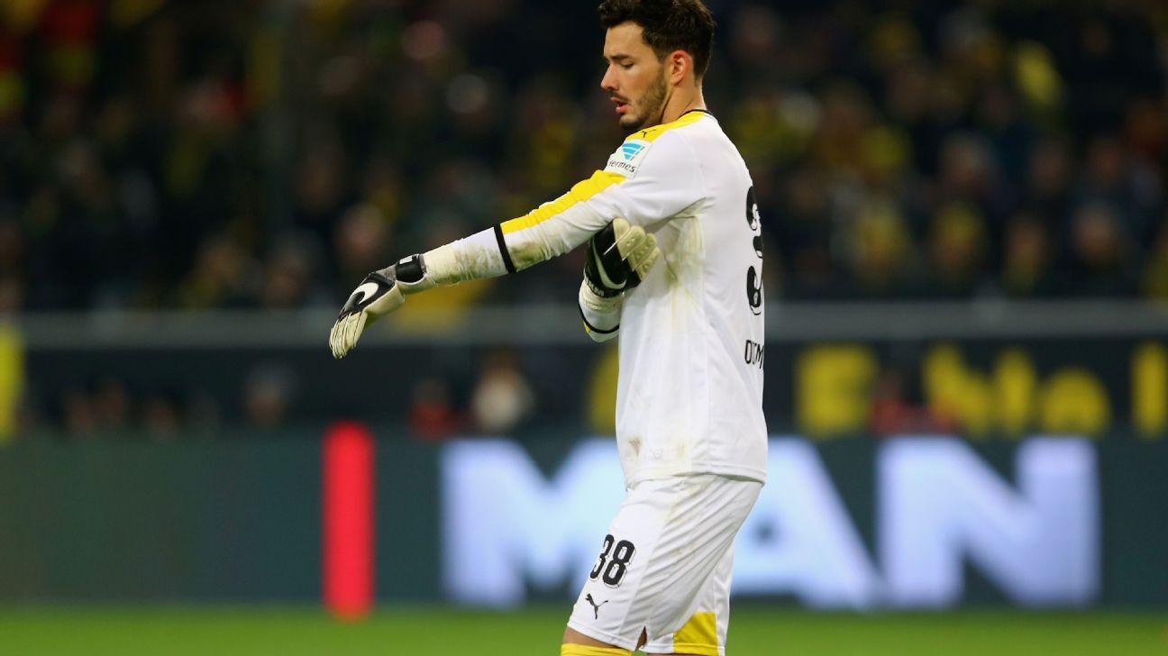 Roman Burki v Bayern